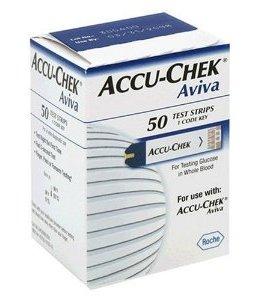 Aviva ACCU-CHEK Glucose Monitor Test Strips